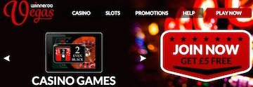 Skriuw dy yn foar dyn slice fan de hiele NEW Winneroo Vegas Casino Pie! £ 5 free Bonus + £ 500 Deposit Match. Loads fan Spin-Back en Cashback Offers lykas Daily Deals en in Exclusive VIP Club!