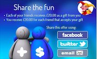 Casino Dukes Refer a Friend Bonus