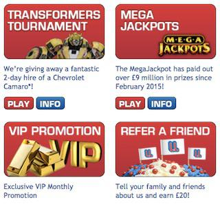 £500 Welcome Slots Bonus