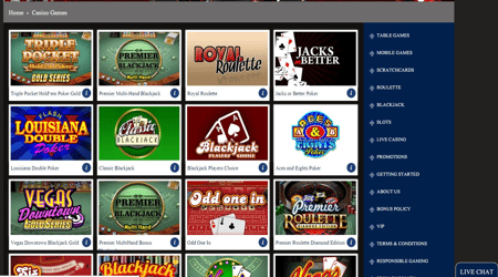 casino websites with free bonus