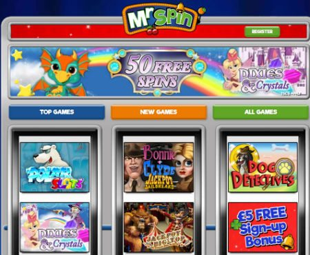 online casino no deposit free spin game