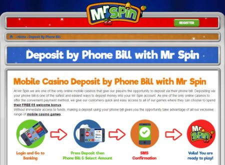 Promotional Deals at Mr Spin Casino Review