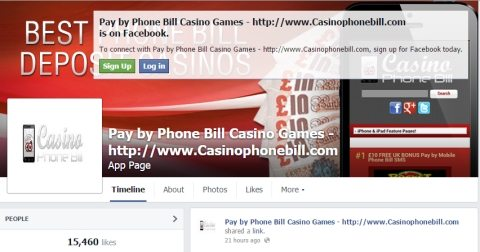 Pay by Phone Bill Casino Games