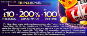 mobile casino signup bonus
