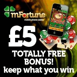 mFortune free spins bonus no deposit