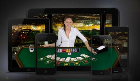 live casino mobile wagers