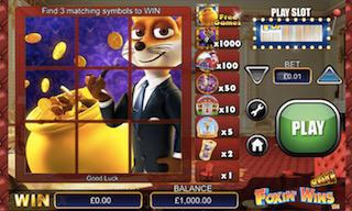 Foxin Wins Free instant Win Scratch Cards