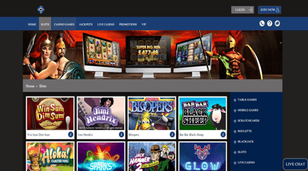 top progress play online casino site