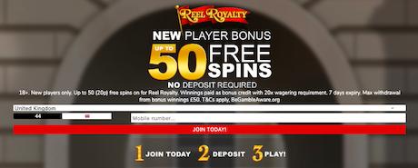 free slots spins no deposit