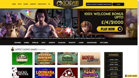 deposit match directory casino