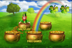 free spins irish luck slots