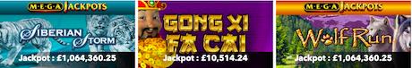 best progressive jackpot slots online